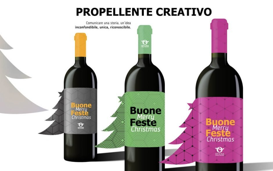 Propellente creativo - Merry Christmas da Oficina