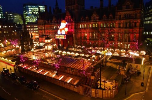 Christmas market di Manchester