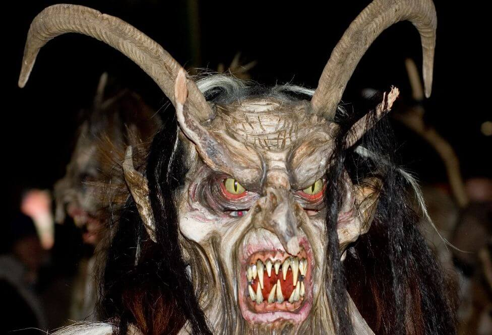 mascherone Krampus